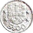 5 Escudos (Miniature coin; Aluminium) – reverse
