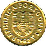 1 Escudo (Miniature coin) – obverse