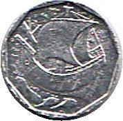 50 Escudos (Miniature coin) – reverse