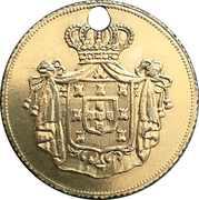 5000 Reis - Pedro V – reverse