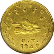10 Dollars - Oregon Exchange Company (Beaver) – obverse