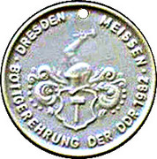 Token - Johann Friedrich Böttger – reverse