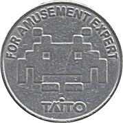 Arcade Token - Taito – obverse