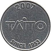 Arcade Token - Taito – reverse