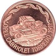 Token - 100 Jahre Deutsche Automobilgeschichte (OPEL 1911) – obverse