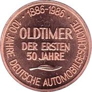 Token - 100 Jahre Deutsche Automobilgeschichte (OPEL 1911) – reverse