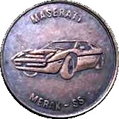 Token - Maserati Merak SS – obverse