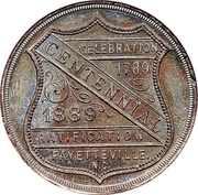 Dollar - Fayetteville North Carolina Centennial – reverse