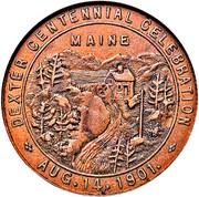 Dollar - Dexter Maine Centennial – reverse