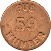 Pub 59 Free Beer Money – obverse