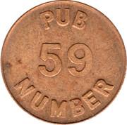 Pub 59 Free Beer Money – obverse