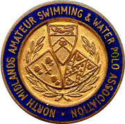 North Midlands amateur Swimming & Water Polo Association – obverse