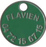 Shopping Cart Token - Flavien (1 Euro) – obverse