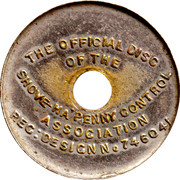 Official Shove-Ha'penny Disc – obverse