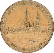 Dollar - Pacific American International Exposition (U.S.S. Battleship Oregon) – reverse
