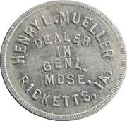 1 Dollar - Henry L. Mueller – obverse