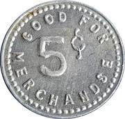 5 Cents - Rocker's Roost – reverse
