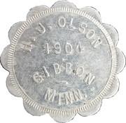 1 Dollar - H.J. Olson – obverse