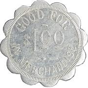 1 Dollar - H.J. Olson – reverse