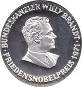 Token - Bundeskanzler Willy Brandt – obverse