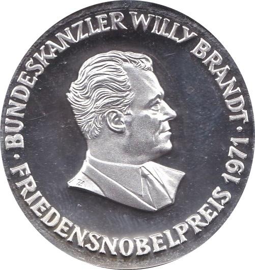 Token - Bundeskanzler Willy Brandt - * Tokens * – Numista