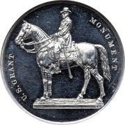 Dollar - Unveiling of the Grant Monument (Type I) – obverse