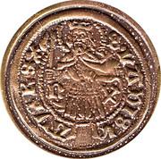 Replica - Gold coin Matias Corvin – obverse