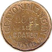 20 Centimes - Crayon Mengin (Paris) – reverse