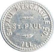 25 Cents - St. Paul Mercantile – obverse