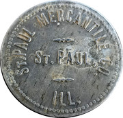 1 Dollar - St. Paul Mercantile – obverse