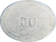 50 Cents - Asbury & Walters – reverse