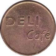 Vending Machine Token - Deli Café – obverse