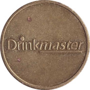 Vending Machine Token - Drinkmaster – obverse