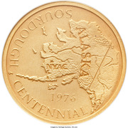 Medal - Sourdough Mine Centennial (Nyac, Alaska) – obverse