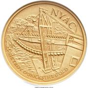 Medal - Sourdough Mine Centennial (Nyac, Alaska) – reverse