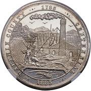 Dollar - Dauphin County Pennsylvania Centennial Medal – obverse