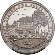 Dollar - Dauphin County Pennsylvania Centennial Medal – reverse