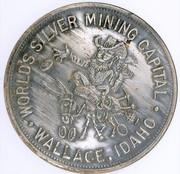 So-called-dollar - Coeur d'Alene Idaho Silver Jubilee (Wallace, ID) – obverse