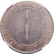 So-called-dollar - Convair Astronautics Plant Dedication (San Diego, California) – obverse