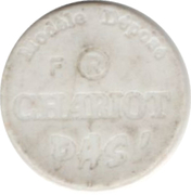 Shopping Cart Token - Chariot – reverse