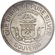 Dollar - Colorado Century of Progress (Type III) – obverse