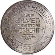 Dollar - Colorado Century of Progress (Type III) – reverse