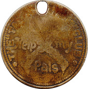 "The ""Tail-Waggers"" Club Token – obverse"