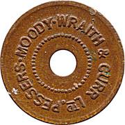 Pessers Moody Wraith & Gurr token – obverse