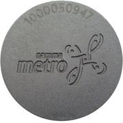 Metro Token - Bangalore – obverse