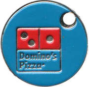 Shopping Cart Token - Domino's Pizza – obverse
