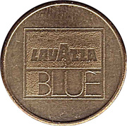 Vending Machine Token - Lavazza Blue – obverse