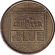Vending Machine Token - Lavazza Blue – reverse