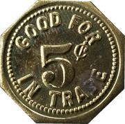 5 Cents - Eckart Bullard Room – reverse