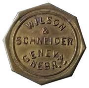 2 ½ Cents - Wilson & Schneider – obverse
